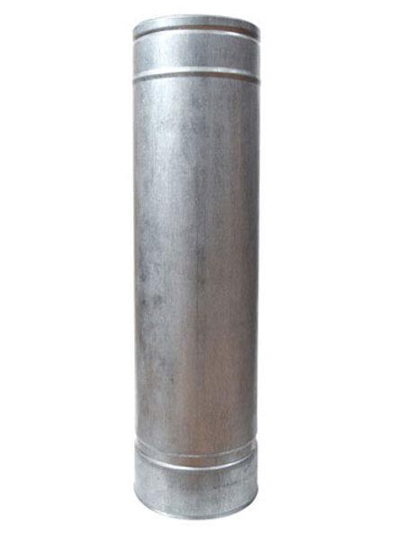 Трубы L=1м из нержавеющей стали в оцинкованном кожухе