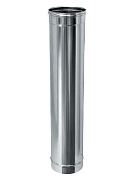 Трубы L=1,0м для дымохода одностенные из нержавеющей стали
