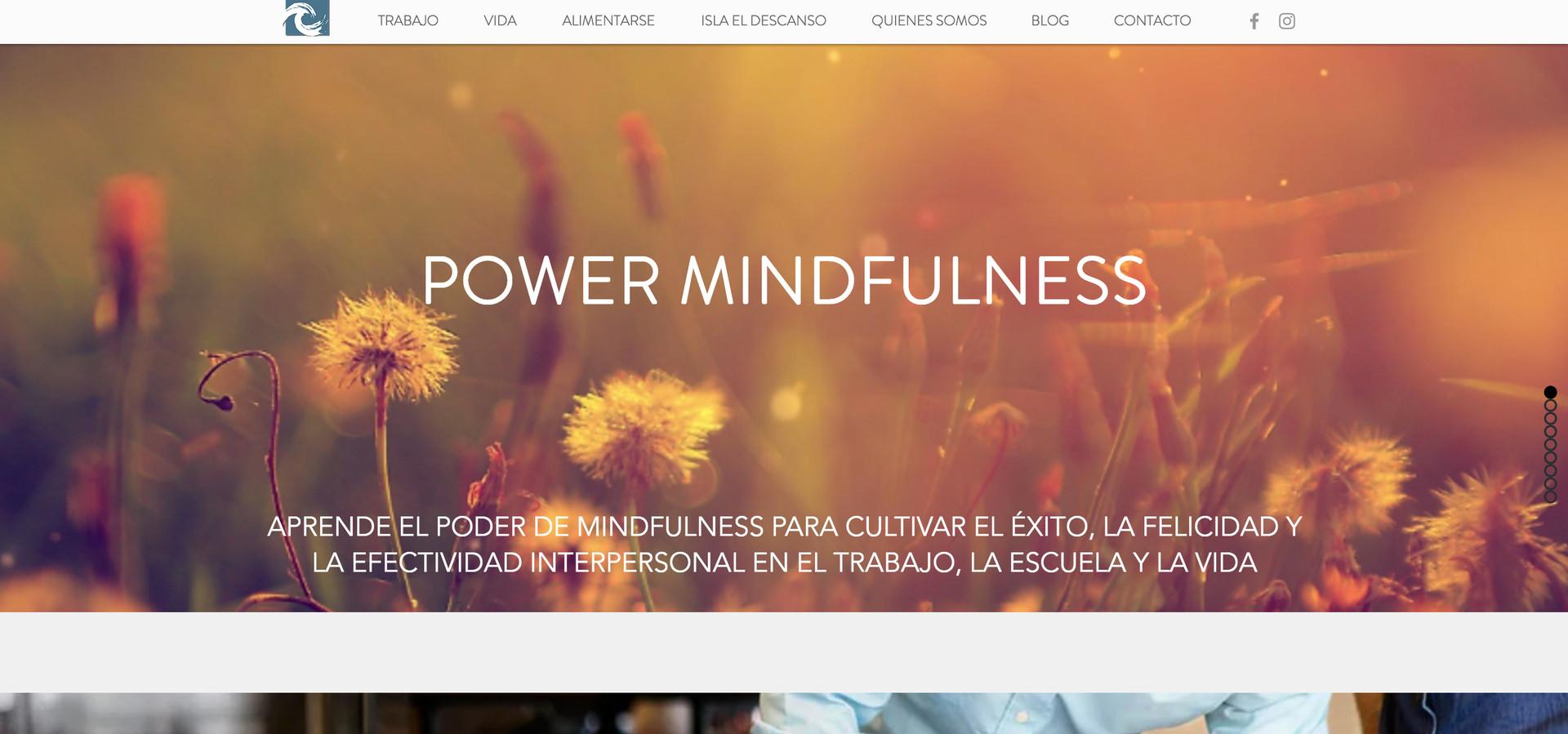 Power Mindfulness - Sitio