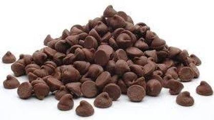 gotitas de chocolate semiamargo