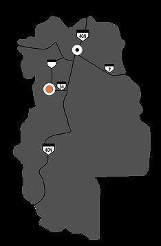Mapa Mendoza-Argentina