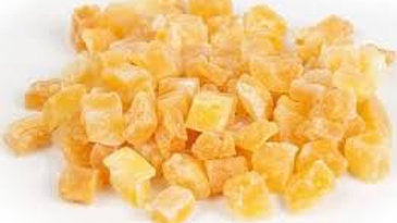 anana en cubos
