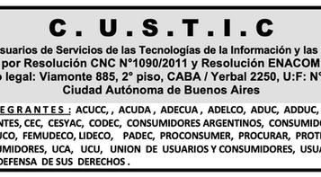 26 ASOCIACIONES RATIFICARON ANTE EL ENACOM ANULAR AUMENTOS DE TELEFONIA FIJA, MOVIL, INTERNET Y TVC