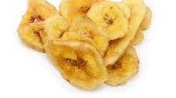 chips de banana fritos