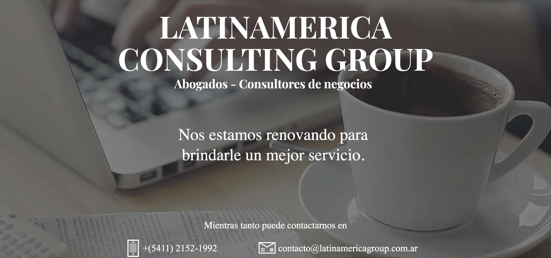 Latin America Consulting Group - Landing