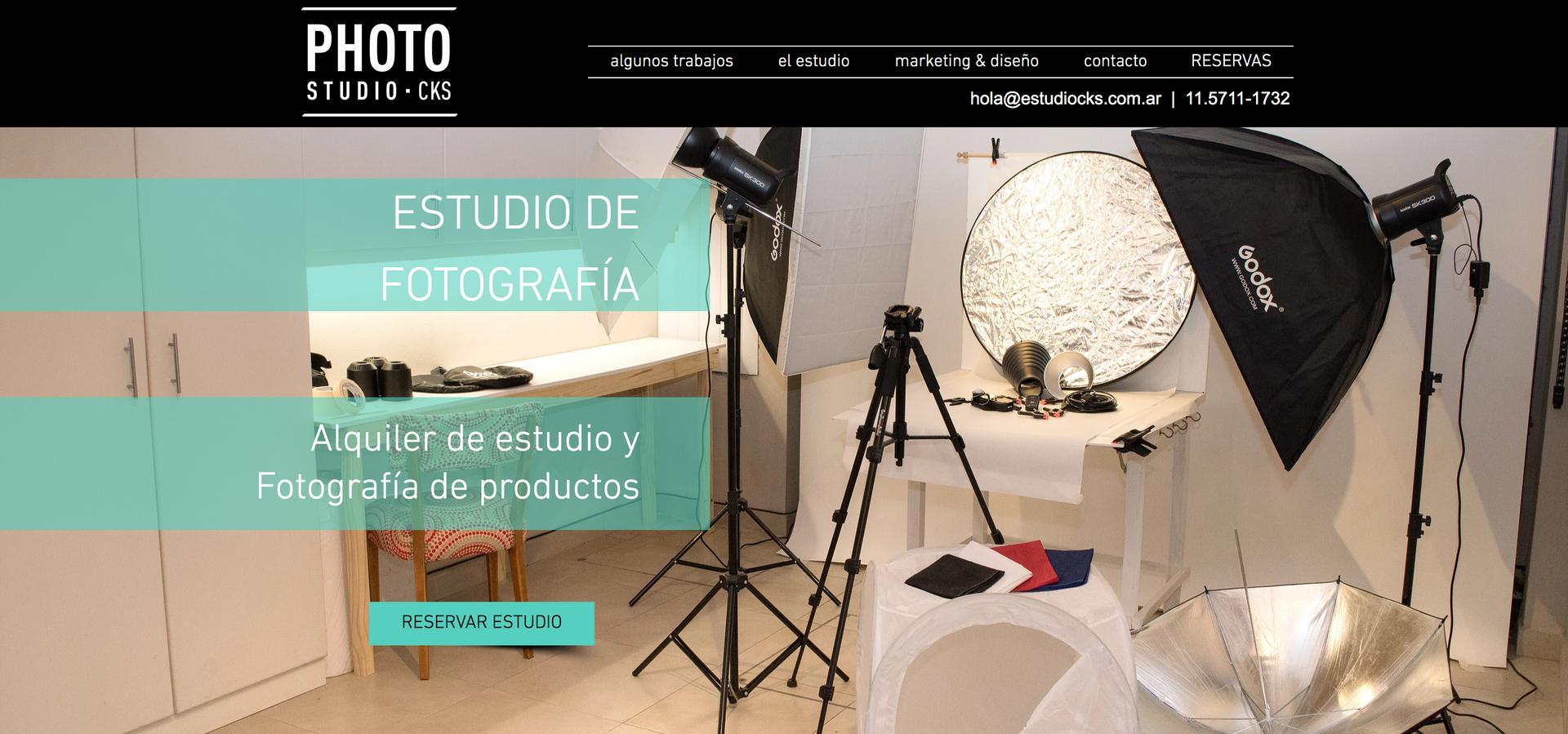 CKS Photo Studio - Ecommerce