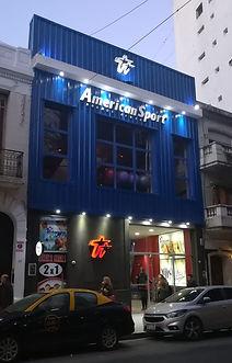 Fachada Nueva American Sports