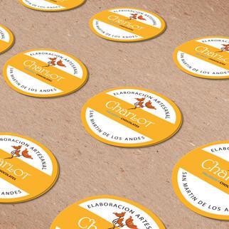 stickers para empaque