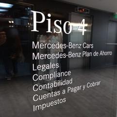 Oficinas Mercedes Benz