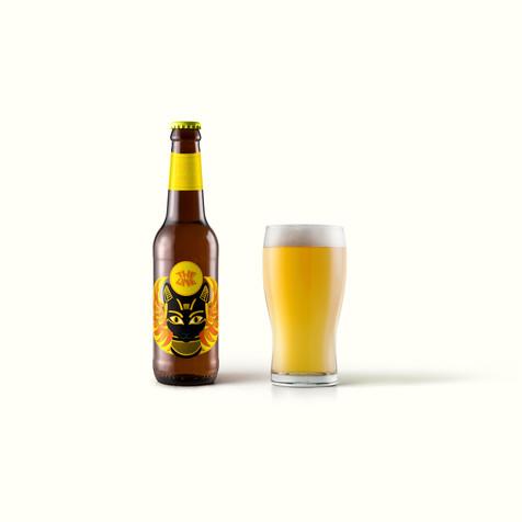 Bastet - cerveza rubia