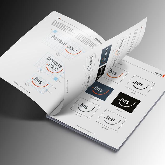 Diseño de logo y manual de marca