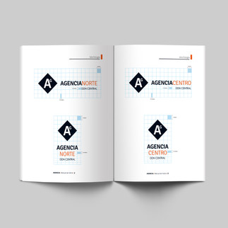Diseño de logo con manual de usos y normas