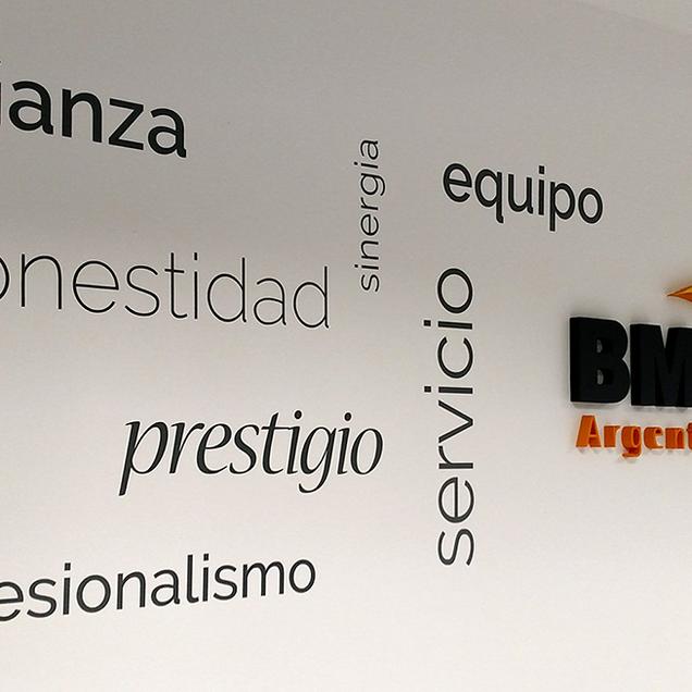 Diseño e instalación Corpóreos nueva oficina