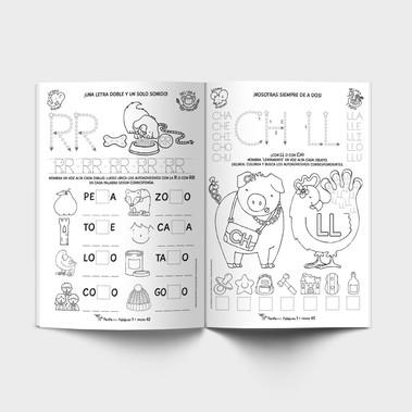 Benteveo Palabra 1 - Imprenta mayúscula