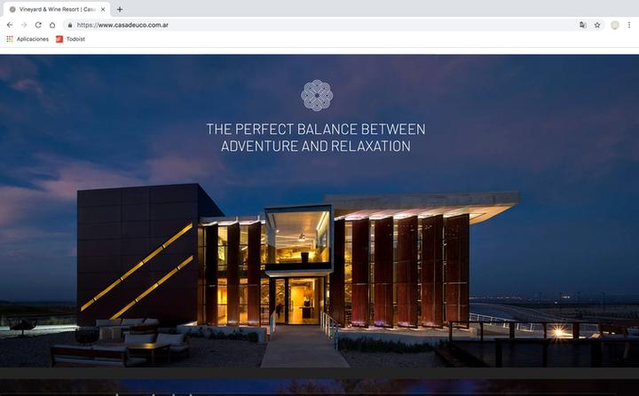 Casa de Uco - Web