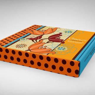 Diseño de packaging para Cholcolates