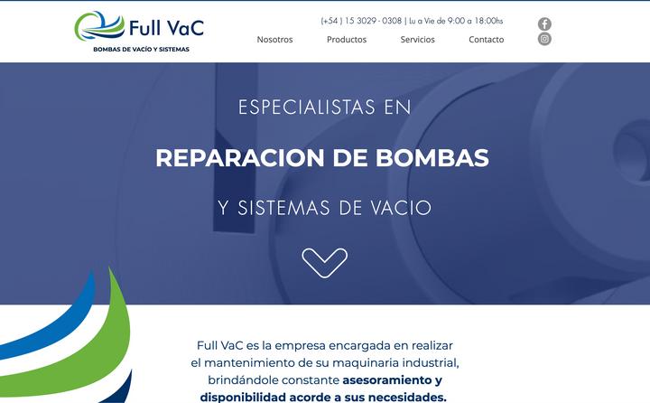 FullVac - Bombas de vacío