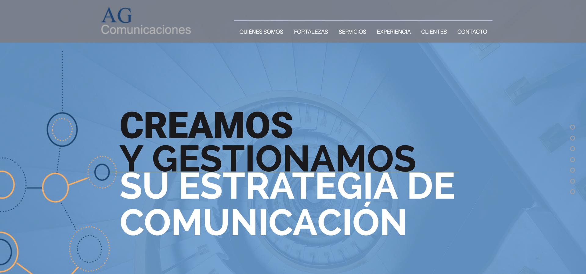 AG Comunicaciones - Web