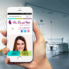 Diseño de página web - versión mobile
