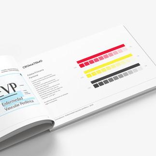 Diseño marca EVP