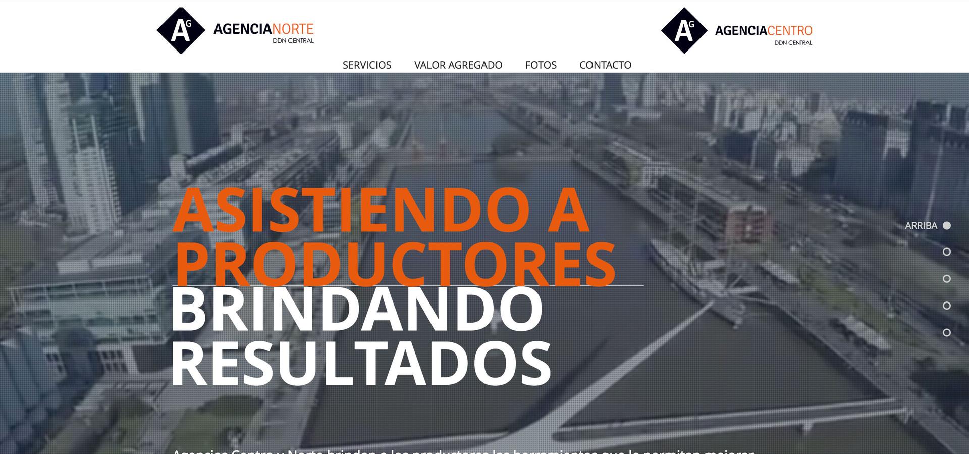 Agencias - Web