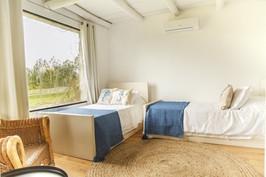 Lavanda abajo - habitación camas simples