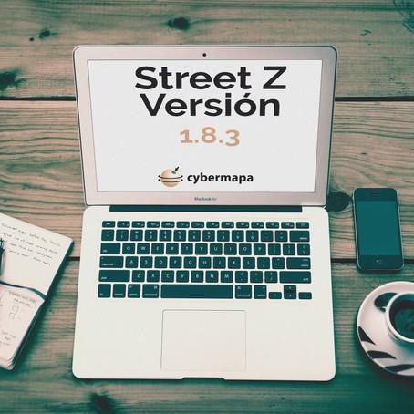 Street Z - Change log 1.8.3