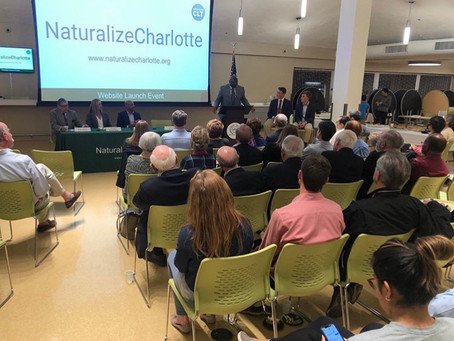Volunteering with Naturalize Charlotte