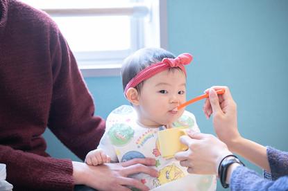 離乳食を持ち込んで、親子でゆっくりお食事