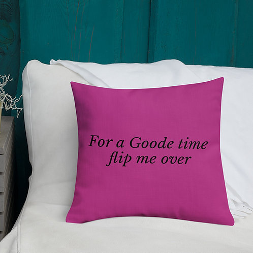 Goode Time Pillows