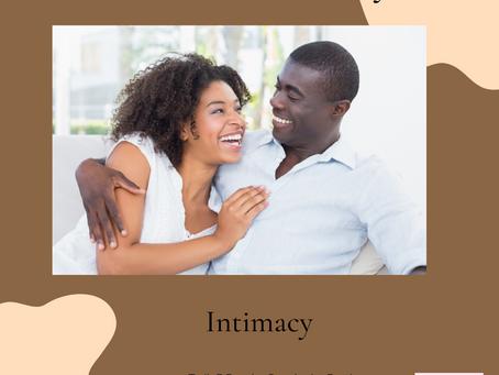 Wet Sex Wednesday...Intimacy