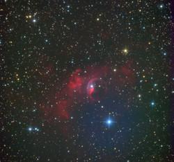 """NGC7635 """"Туманность Пузырь"""""""