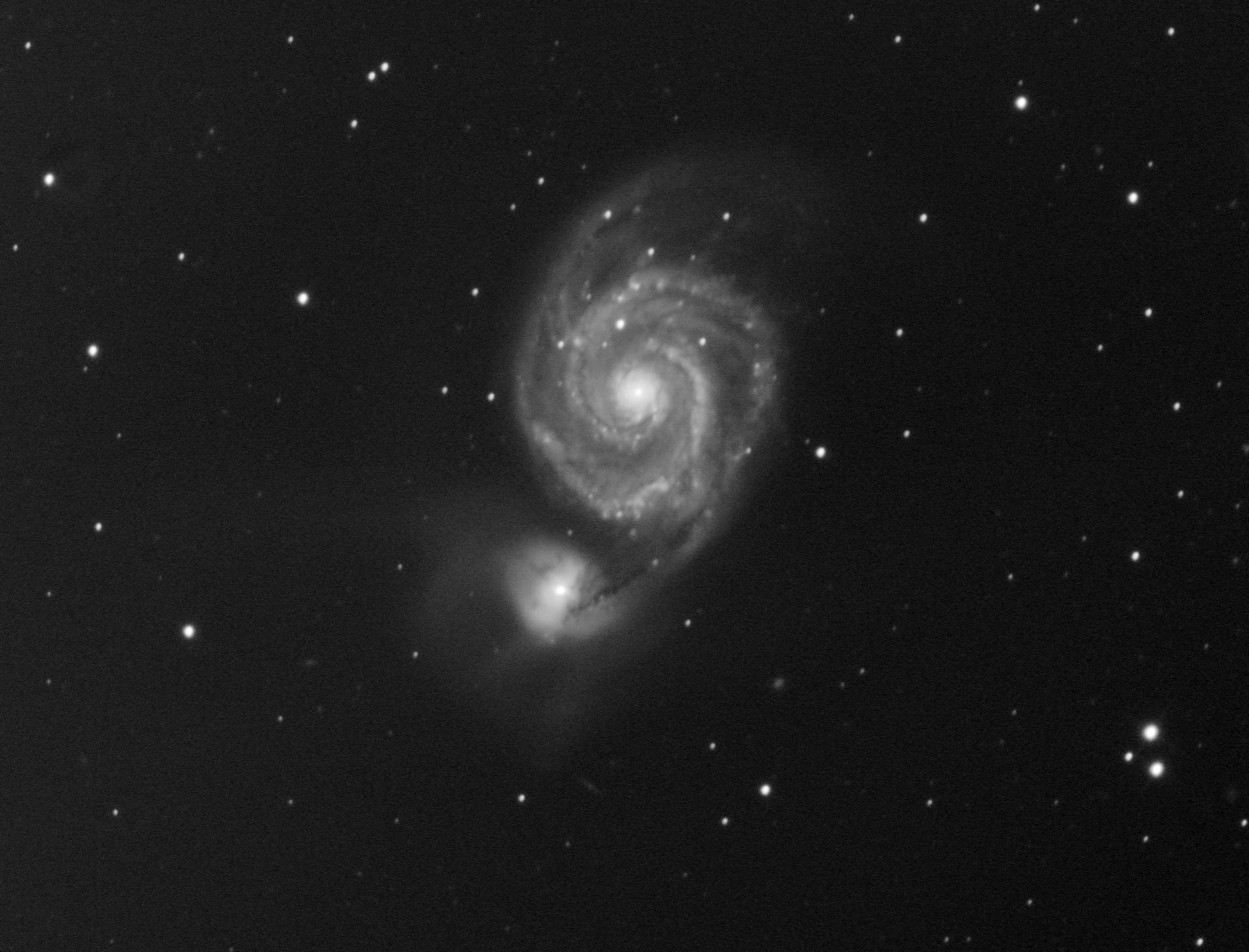 M51 Галактика Водоворот