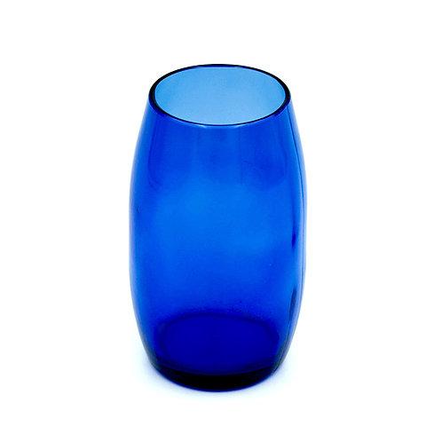 Vase dunkelblau