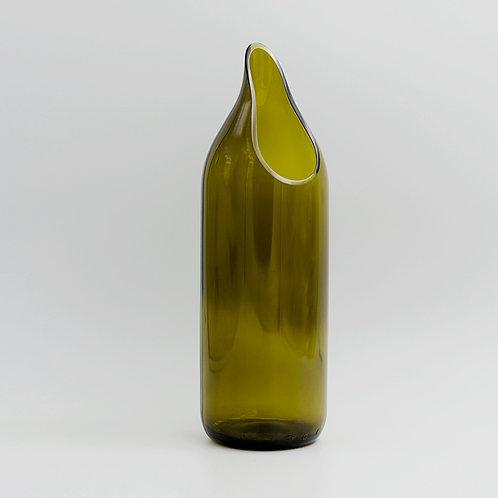 Karaffe braun-grün
