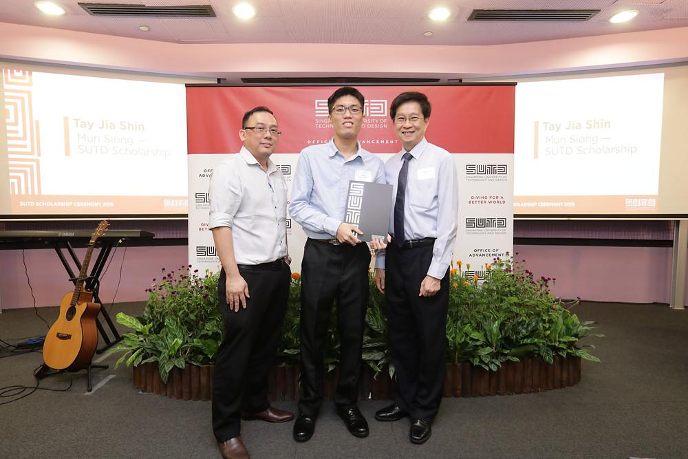 Mun Siong - SUTD Scholarship