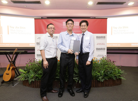 Mun Siong Engineering Awards S$15,000 Scholarship to SUTD
