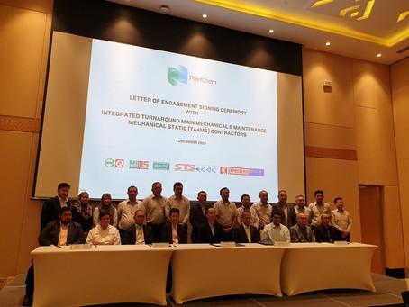 Integrated Turnaround Main Mechanical & Maintenance Contract from Petronas