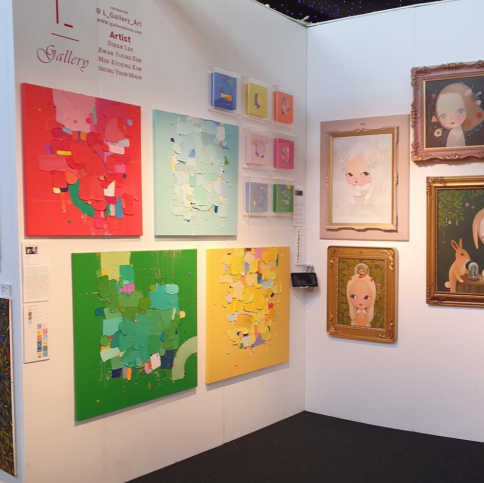 2020 Affordable Art Fair Battersea (UK / L Gallery)