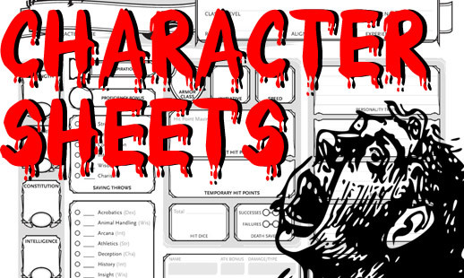 D D 5e Character Sheets Fully Explained