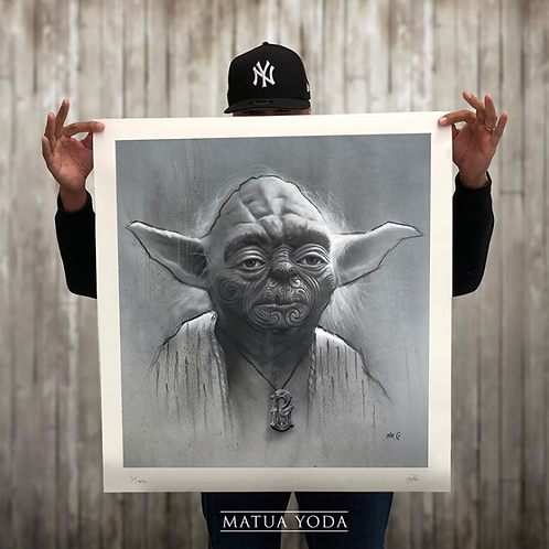 """MATUA YODA"" Print - Limited run of 100 (SOLD OUT)"