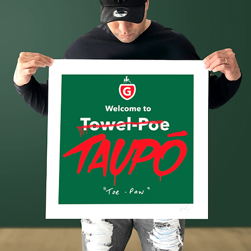 """""""Welcome to TAUPO"""" PRINT"""