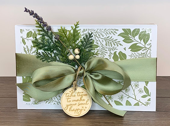 Take Time to Make Your Soul Happy Gift Set