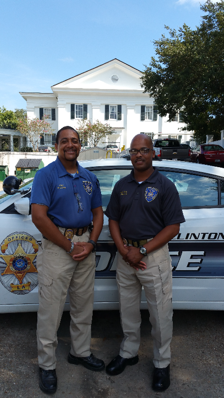 Chief Fred Dunn & Captain Ned Davis