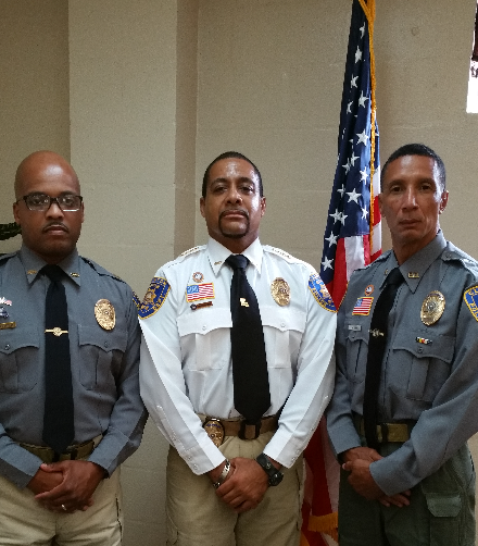 Chief, Asst. Chief & Lt.