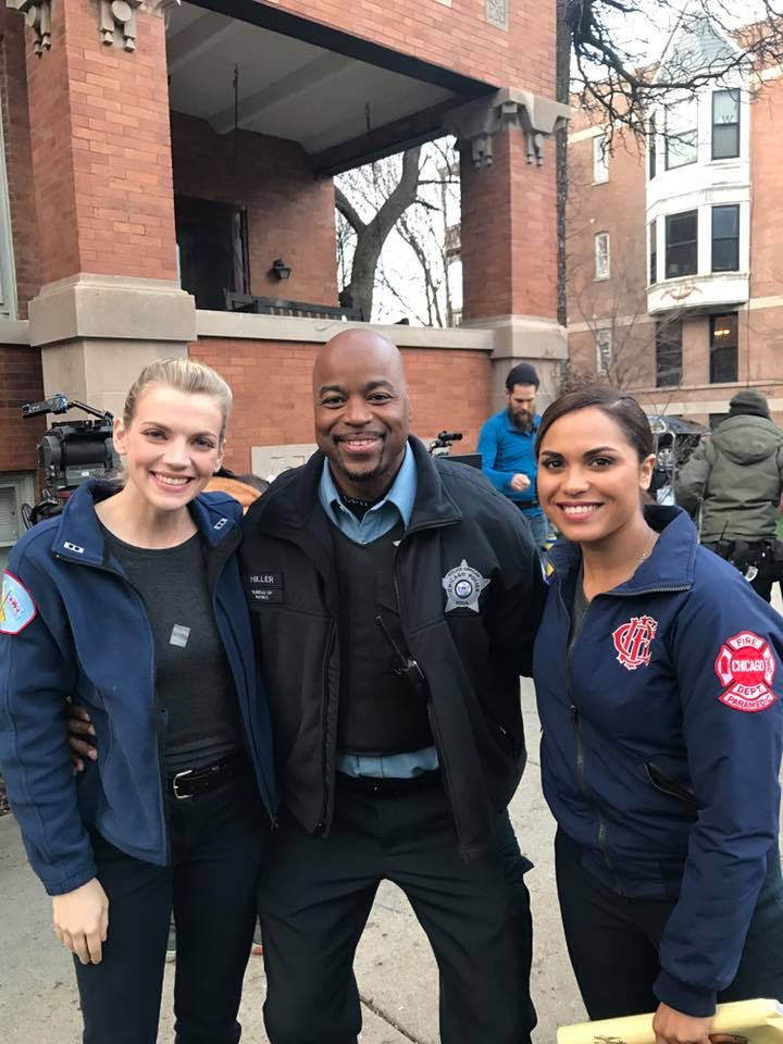 NBC|Chicago Fire-Officer Hillar
