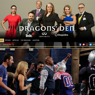 FCF Co-Founders on BBC's Dragons Den