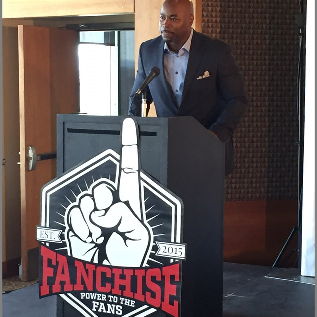 Fanchise First Press Conference in Salt Lake City Utah