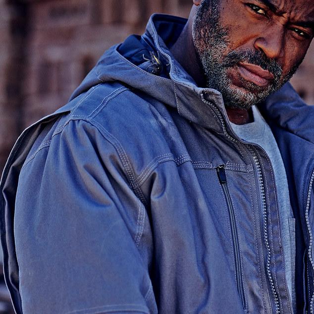 Ray Austin Modeling Ariat Work Jacket