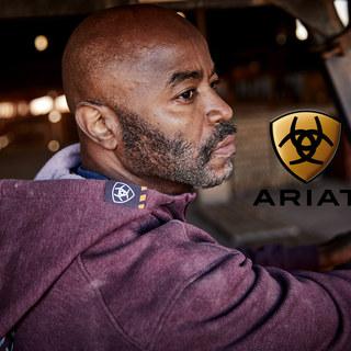 Ray Austin Modeling Ariat Work Hoodie